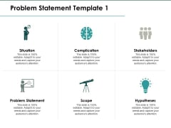 Problem Statement Situation Ppt PowerPoint Presentation Ideas Layout