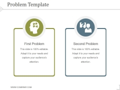 Problem Template 2 Ppt PowerPoint Presentation Picture