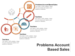 Problems Account Based Sales Ppt PowerPoint Presentation Portfolio Guide Cpb Pdf