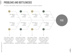 Problems And Bottlenecks Slide Ppt PowerPoint Presentation Graphics