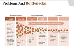 Problems And Bottlenecks Template 2 Ppt PowerPoint Presentation Tips