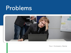 Problems Business Marketing Ppt PowerPoint Presentation Complete Deck