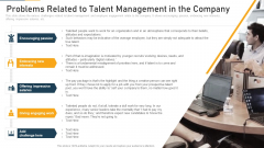 Problems Related To Talent Management In The Company Ppt Outline Graphics PDF