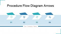 Procedure Flow Diagram Arrows Investment Goals Ppt PowerPoint Presentation Complete Deck With Slides