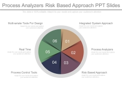 Process Analyzers Risk Based Approach Ppt Slides