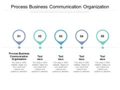 Process Business Communication Organization Ppt PowerPoint Presentation Outline Portrait Cpb