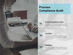 Process Compliance Audit Ppt PowerPoint Presentation Inspiration Examples Cpb