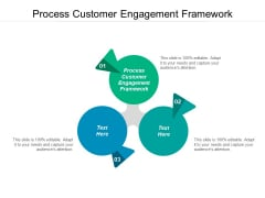 Process Customer Engagement Framework Ppt PowerPoint Presentation Summary Infographics Cpb