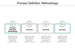 Process Definition Methodology Ppt PowerPoint Presentation Styles Guidelines Cpb