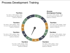 Process Development Training Ppt PowerPoint Presentation Infographics Guidelines Cpb