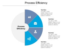 Process Efficiency Ppt PowerPoint Presentation Layouts Clipart Cpb Pdf