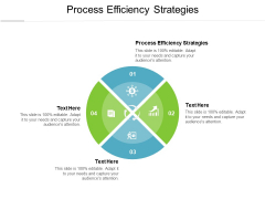 Process Efficiency Strategies Ppt PowerPoint Presentation Infographics Clipart Cpb