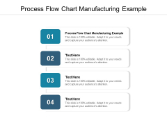 Process Flow Chart Manufacturing Example Ppt PowerPoint Presentation Model Design Ideas Cpb