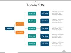 Process Flow Ppt PowerPoint Presentation Ideas Layout Ideas