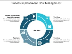 Process Improvement Cost Management Ppt PowerPoint Presentation Gallery Show Cpb