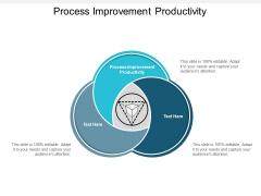 Process Improvement Productivity Ppt PowerPoint Presentation Gallery Inspiration Cpb