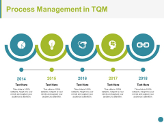 Process Management In Tqm Ppt PowerPoint Presentation Icon Layout