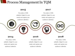 Process Management In Tqm Ppt PowerPoint Presentation Show Aids