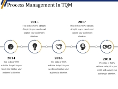Process Management In Tqm Ppt PowerPoint Presentation Summary Design Ideas