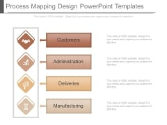 Process Mapping Design Powerpoint Templates