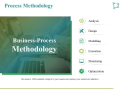 Process Methodology Ppt PowerPoint Presentation Icon Template