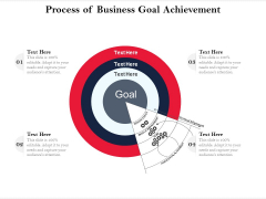 Process Of Business Goal Achievement Ppt PowerPoint Presentation Portfolio Designs Download PDF