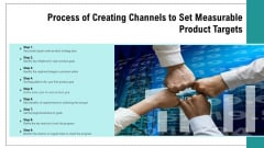 Process Of Creating Channels To Set Measurable Product Targets Mockup PDF