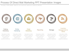 Process Of Direct Mail Marketing Ppt Presentation Images