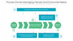 Process Owner Managing Vendor And Consumer Needs Ppt PowerPoint Presentation Inspiration Slide Download PDF