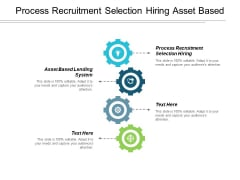 Process Recruitment Selection Hiring Asset Based Lending System Ppt PowerPoint Presentation Infographics Templates