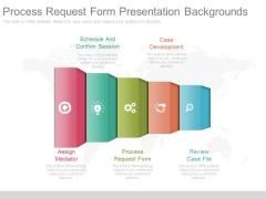 Process Request Form Presentation Backgrounds