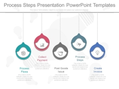 Process Steps Presentation Powerpoint Templates