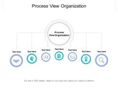 Process View Organization Ppt PowerPoint Presentation Portfolio Guide Cpb Pdf