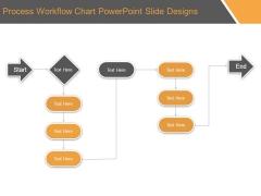 Process Workflow Chart Powerpoint Slide Designs