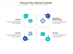 Procure Pay Internal Controls Ppt PowerPoint Presentation Infographics Clipart Cpb Pdf