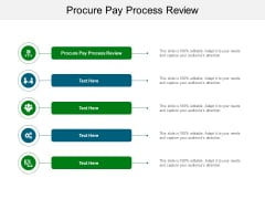 Procure Pay Process Review Ppt PowerPoint Presentation Infographics Example Topics Cpb Pdf