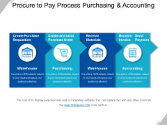 Procure To Pay Process Purchasing And Accounting Ppt PowerPoint Presentation Show Information