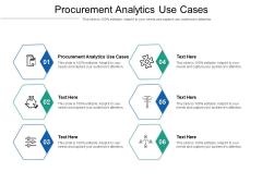 Procurement Analytics Use Cases Ppt PowerPoint Presentation Portfolio Ideas Cpb Pdf
