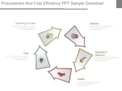 Procurement And Cost Efficiency Ppt Sample Download