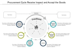 Procurement Cycle Receive Inspect And Accept The Goods Ppt PowerPoint Presentation Ideas Elements