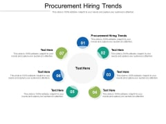 Procurement Hiring Trends Ppt PowerPoint Presentation Ideas Slides Cpb Pdf
