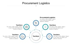 Procurement Logistics Ppt PowerPoint Presentation Summary Graphics Cpb