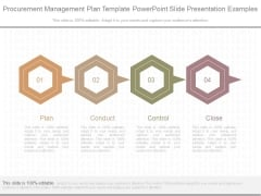 Procurement Management Plan Template Powerpoint Slide Presentation Examples