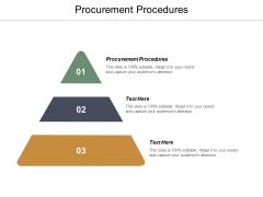 Procurement Procedures Ppt PowerPoint Presentation Ideas Files Cpb