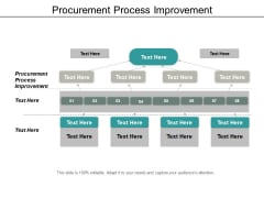 Procurement Process Improvement Ppt PowerPoint Presentation Infographics Rules Cpb