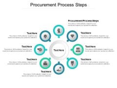 Procurement Process Steps Ppt PowerPoint Presentation Icon Clipart Cpb