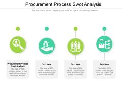 Procurement Process Swot Analysis Ppt PowerPoint Presentation Summary Templates Cpb Pdf