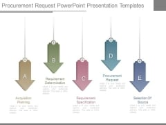 Procurement Request Powerpoint Presentation Templates
