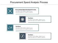 Procurement Spend Analysis Process Ppt PowerPoint Presentation Portfolio Design Inspiration Cpb Pdf