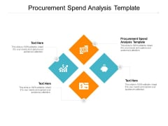 Procurement Spend Analysis Template Ppt PowerPoint Presentation Slides Tips Cpb Pdf